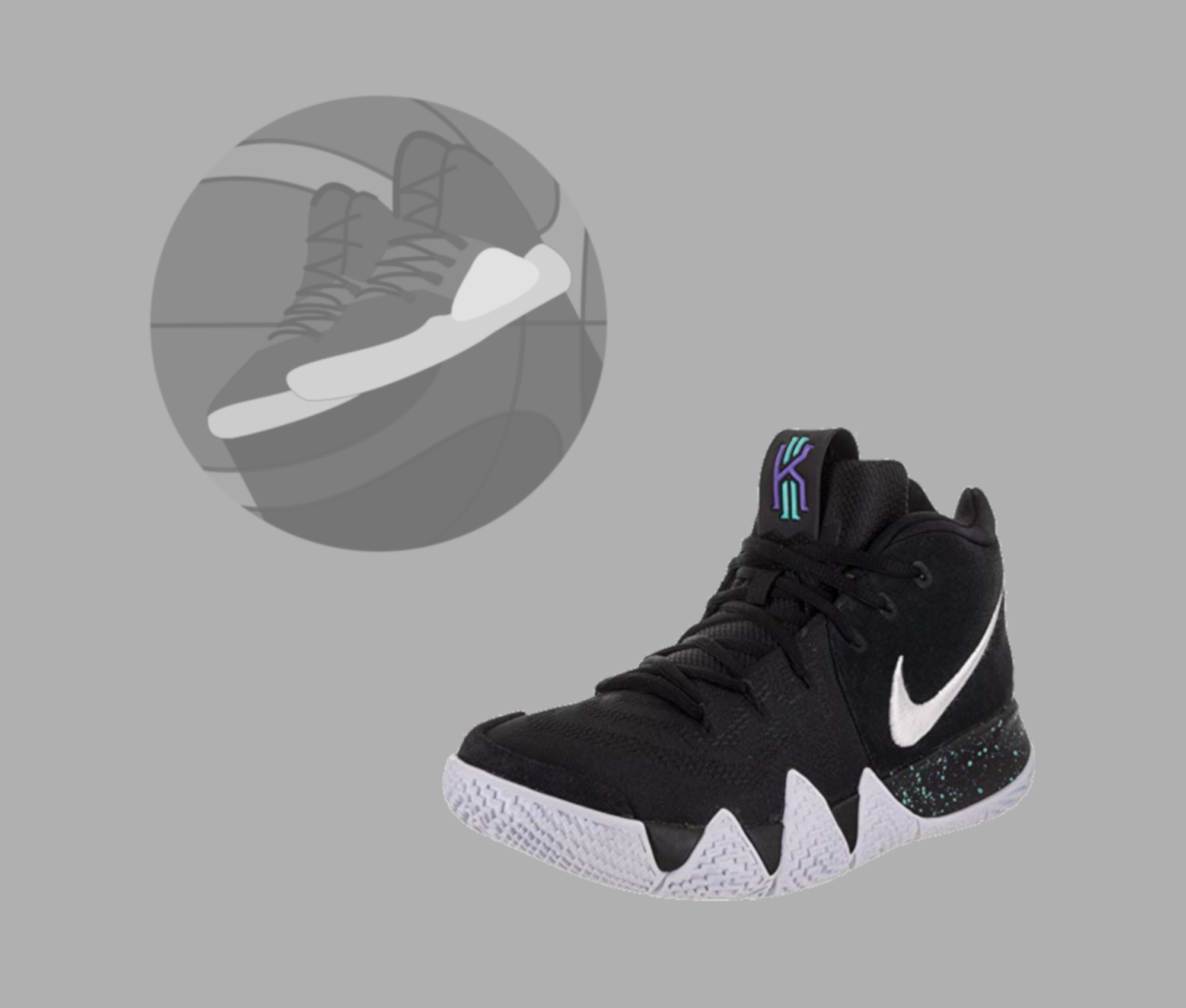 the best attitude 4b311 7a717 NIKE KYRIE 4 PERFORMANCE REVIEW - Basketballschuhe-Tests