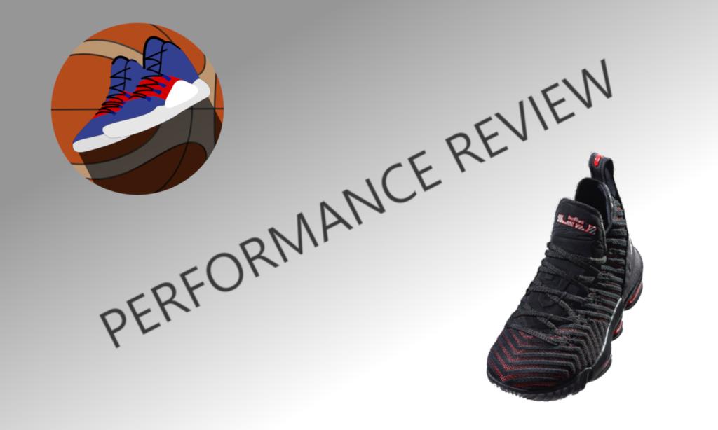 Lebron Nike Basketballschuh 16 Performance Test Review 54RAjL