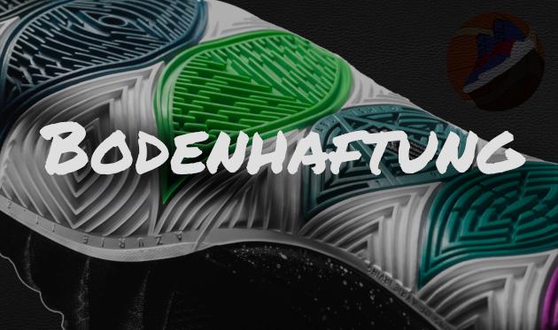 0d6a762d7da Bei dem Kyrie 5 wird nicht wie beim Vorgänger auf ein Fischgräten-Muster  gesetzt. Bei diesem Schuh kommt ein multidirektionales Muster zum Einsatz.