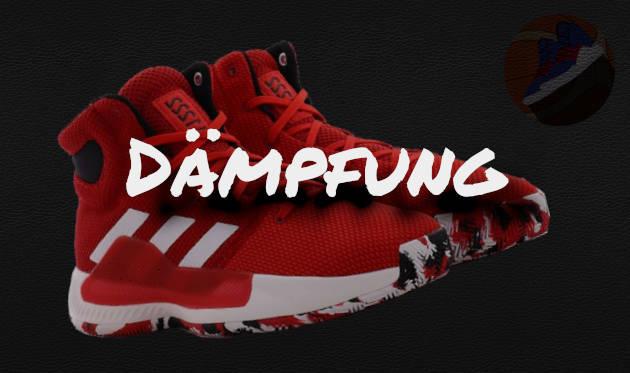 Dämpfung Überschriftsbild des Adidas Pro Bounce Madness 2019