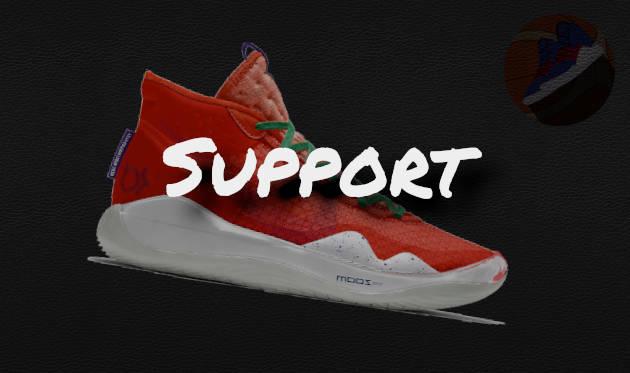 Support des Nike KD12 Basketballschuh
