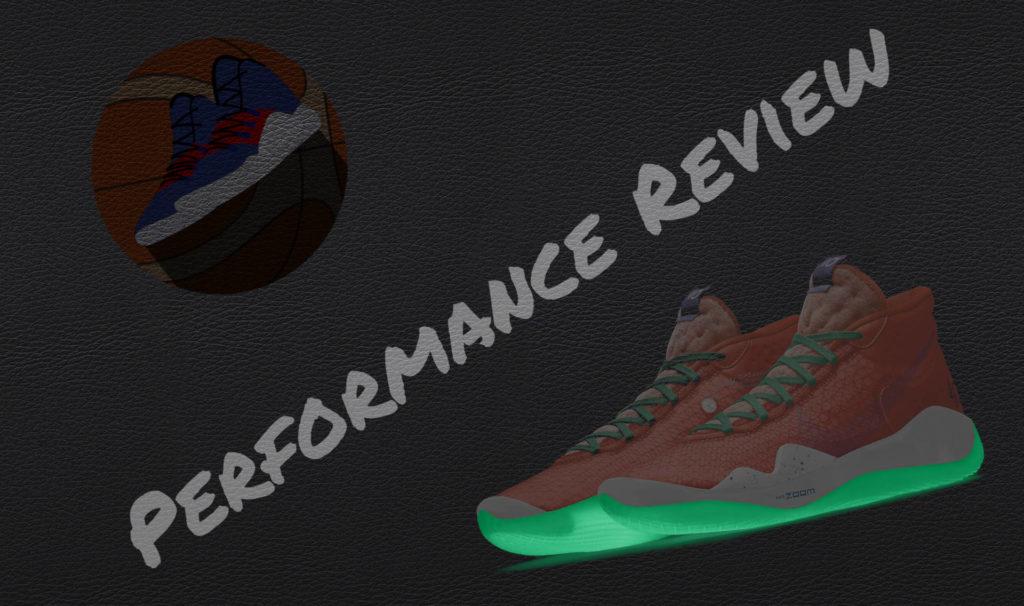 Beitragsbild vom Nike KD12 Basketballschuh Test